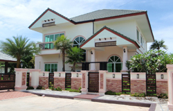 Baandusit Pattaya Village - new houses in Thailand, houses from developer